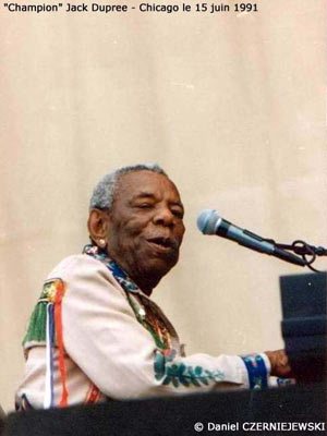 Blues : Champion Jack Dupree
